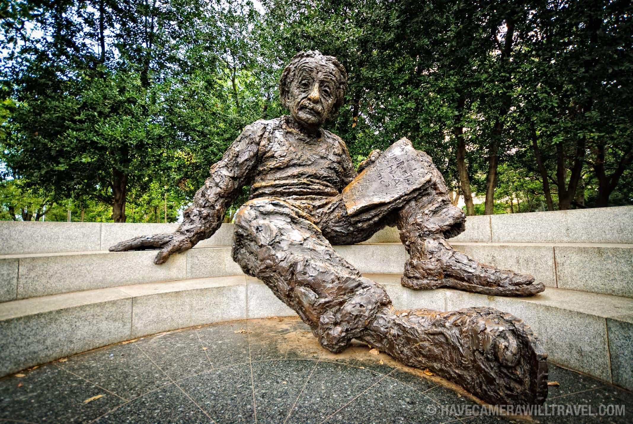 Albert Einstein Memorial Washington Dc Photo Guide