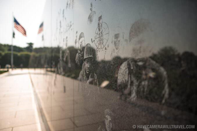 172-1258073 Korean War Veterans Memorial Wall Etchings.