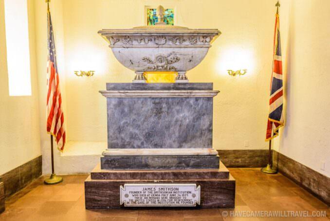 183-15521997 Smithsonian Castle James Smithson Crypt.