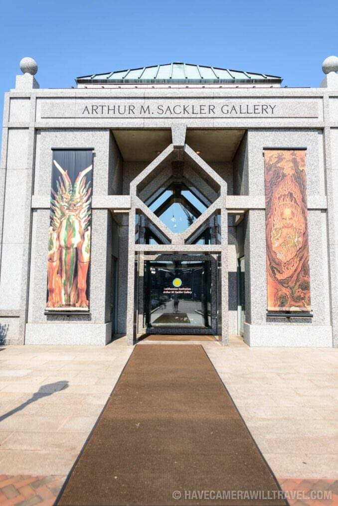 185-140551750 Sackler Gallery Entrance.
