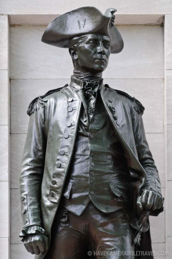 John Paul Jones Memorial Statue