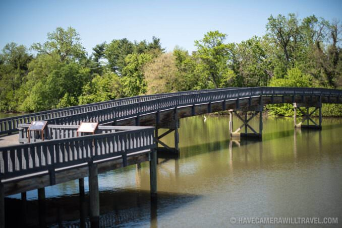 LBJ Memorial Grove Washington DC Bridge and River