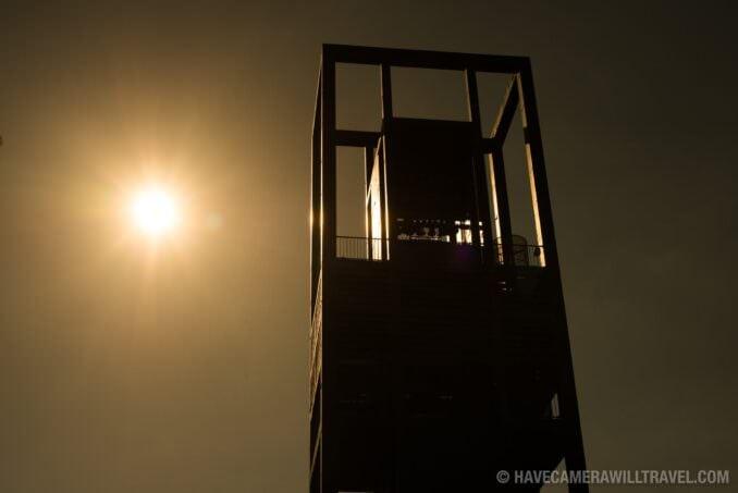 Netherlands Carillon Arlington VA Silhouette