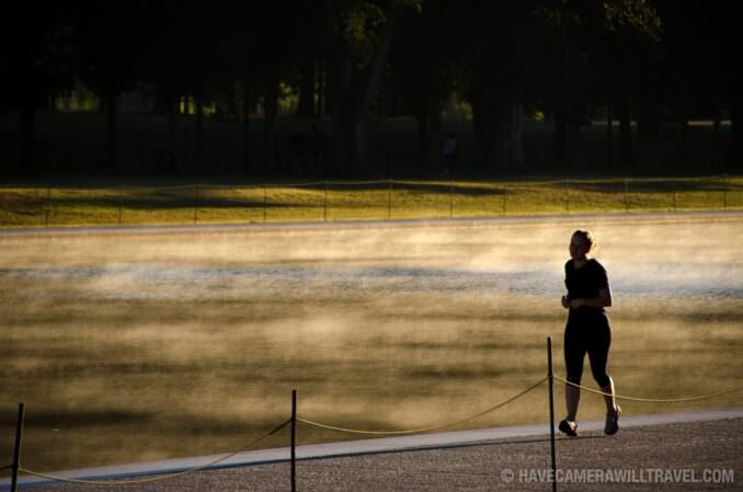 Reflecting Pool Runner