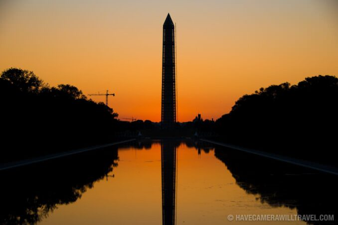 Washington Monument Predawn Glow