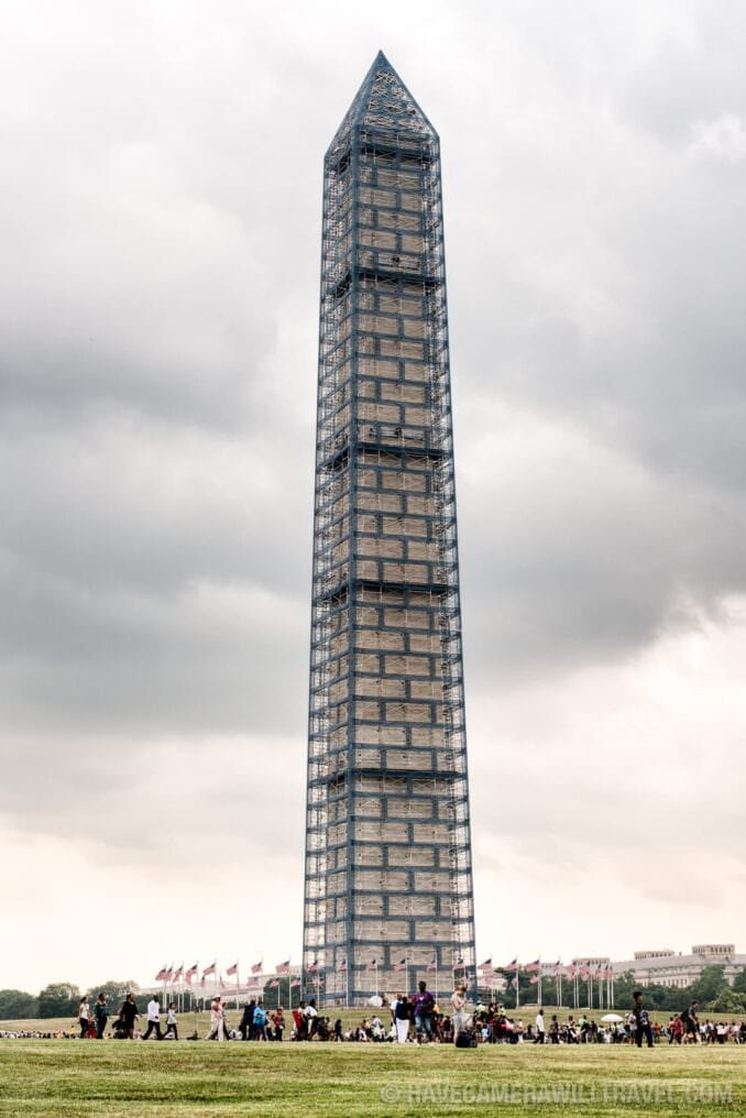 Washington Monument Scaffolding