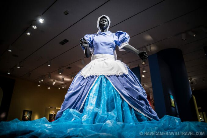 Sophie-Merica by Mary Sibande at the Smithsonian National Museum of African Art