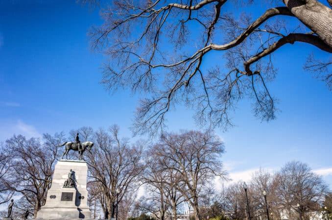 General William T. Sherman Monument in Washington DC