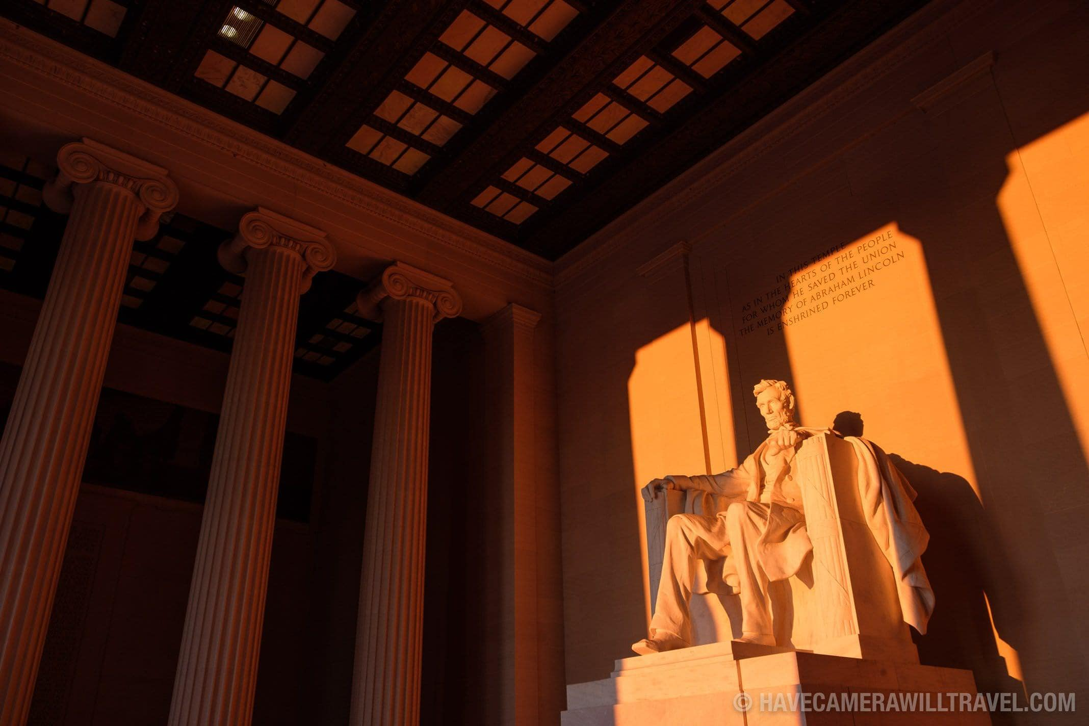Lincoln Memorial Equinox Sunrise